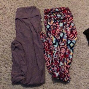 Pants - Lula roe one size leggings